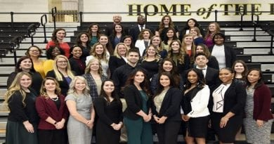 Forty-one CSM Nursing Graduates pinned at 2020 Winter Commencement