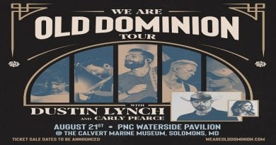 CMM's Waterside Concert Series announces Old Dominion to perform