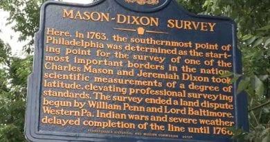 Maryland Geological Survey begins a new survey of Mason-Dixon Line