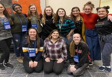 SMR Fine Arts students travel to Maryland State Thespian Festival