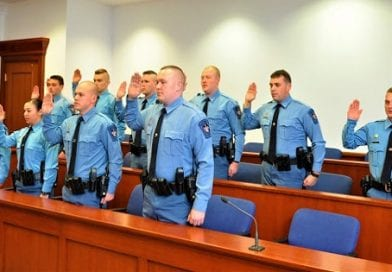 St. Mary's Sheriff's Office Welcomes 10 New Deputies