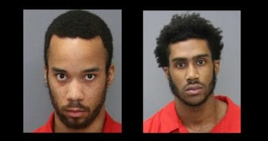 Two men arrested in connection with multiple armed robberies in Charles County