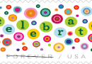 "U.S. Postal Service Says ""Let's Celebrate!"" with Forever Stamp"
