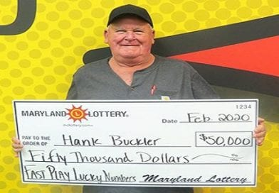 Daughter-in-Law's tip helps land Mechancsiville man $50K Fast Play win