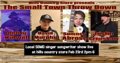 SoMd Local Music Schedule for the week of Feb. 20-26, 2020