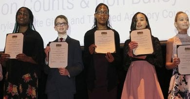 CCPS students honored for gifted education accomplishments