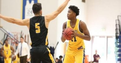 Grant Honored with Third CAC Men's Basketball Player of the Week Selection