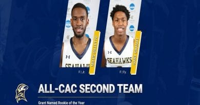 Gillette and Grant Capture All-CAC Honors, Grant Named Rookie of the Year