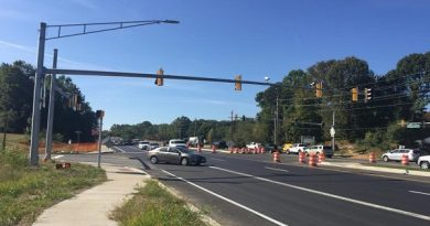 MD 765/Main Street at Central Square Drive in Prince Frederick to close for widening