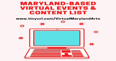 Maryland State Arts Council compiles a list of virtual events and content