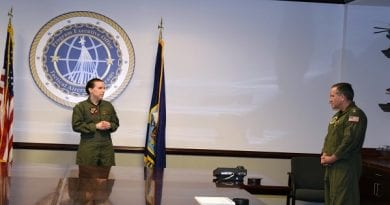 New leadership for Naval Undergraduate Flight Training Systems Program Office