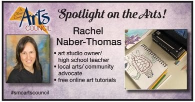 St. Mary's Arts Councils' Monday Arts Spotlight: Rachel Naber-Thomas