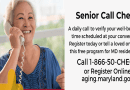 Maryland Department of Aging Launches Caregiver Services Corps to Support Seniors in their Homes During COVID-19