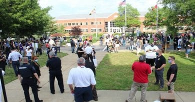 St. Mary's County Governmental Center Peace March on Friday