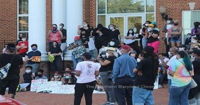 Black Lives Matter Protests come to SoMD, stay peaceful for the most part