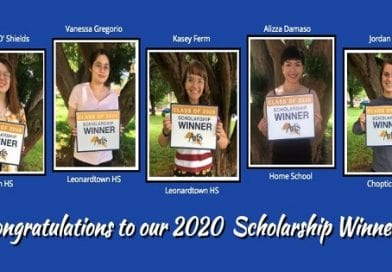 St. Mary's County Arts Council Announces Scholarship Winners