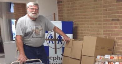 Comptroller Franchot Virtually Presents Calvert County Schaefer Helping People Award