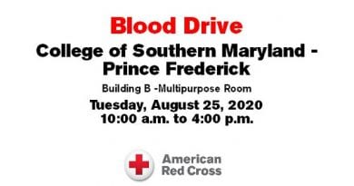CSM to Host Red Cross Blood Drive August 25